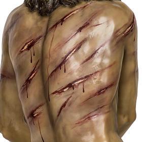 Christ flagellé 180 cm en pâte à bois s13
