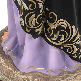 Addolorata Soledad 80 cm pasta di legno dec. elegante s9