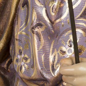 Saint Joseph statue 60cm in wood paste, extra finish s11