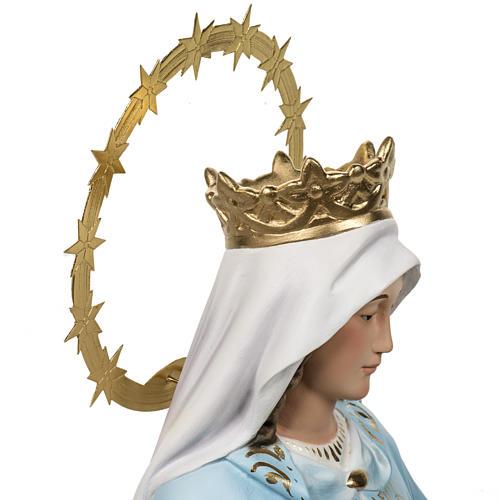 Cudowna Madonna 60cm figurka ścier drzewny dekoracje eleganc 8
