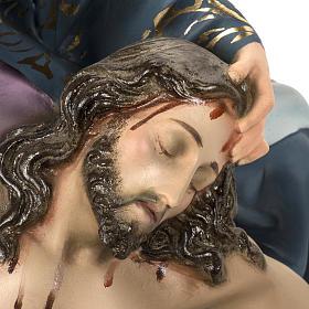 Pieta 50 cm figurka ścier drzewny dekoracje eleganckie s10