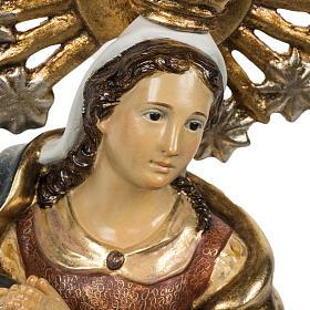 Statua Purissima Concezione 50 cm pasta di legno fin extra s3