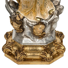 Statua Purissima Concezione 50 cm pasta di legno fin extra s7