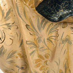 Statua Purissima Concezione 50 cm pasta di legno fin extra s11