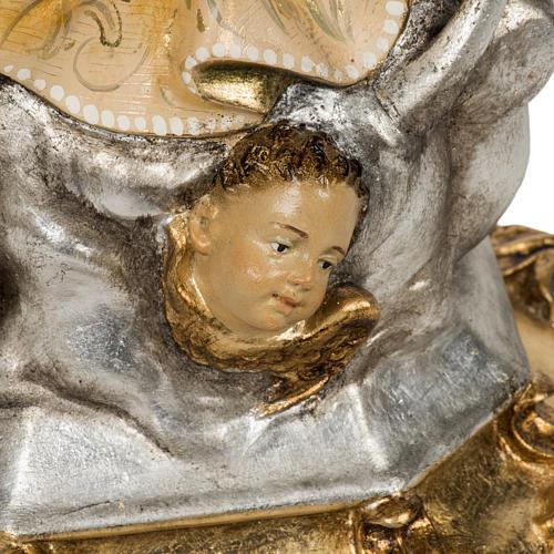 Statua Purissima Concezione 50 cm pasta di legno fin extra 6