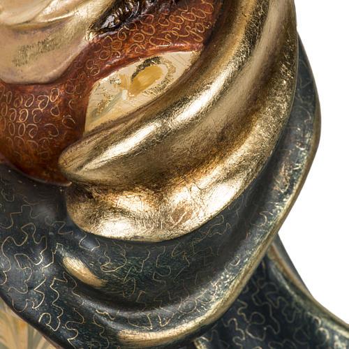 Statua Purissima Concezione 50 cm pasta di legno fin extra 10