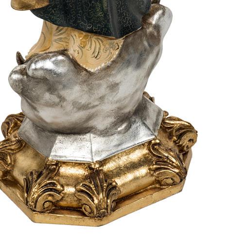 Statua Purissima Concezione 50 cm pasta di legno fin extra 13