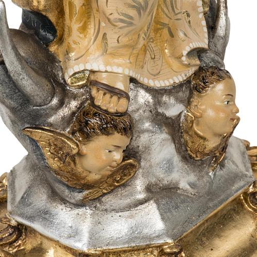 Statua Purissima Concezione 50 cm pasta di legno fin extra 16