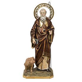 Sant'Antonio Abate 60 cm pasta di legno finitura extra s1