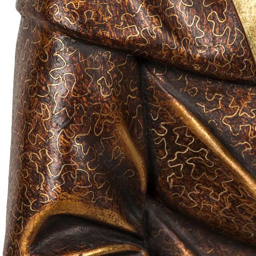 Sant'Antonio Abate 60 cm pasta di legno finitura extra 10