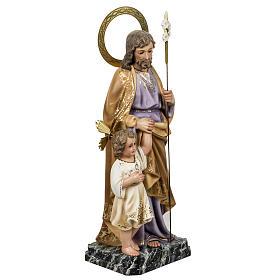 San José con niño clásico 60 cm pasta de ma s5