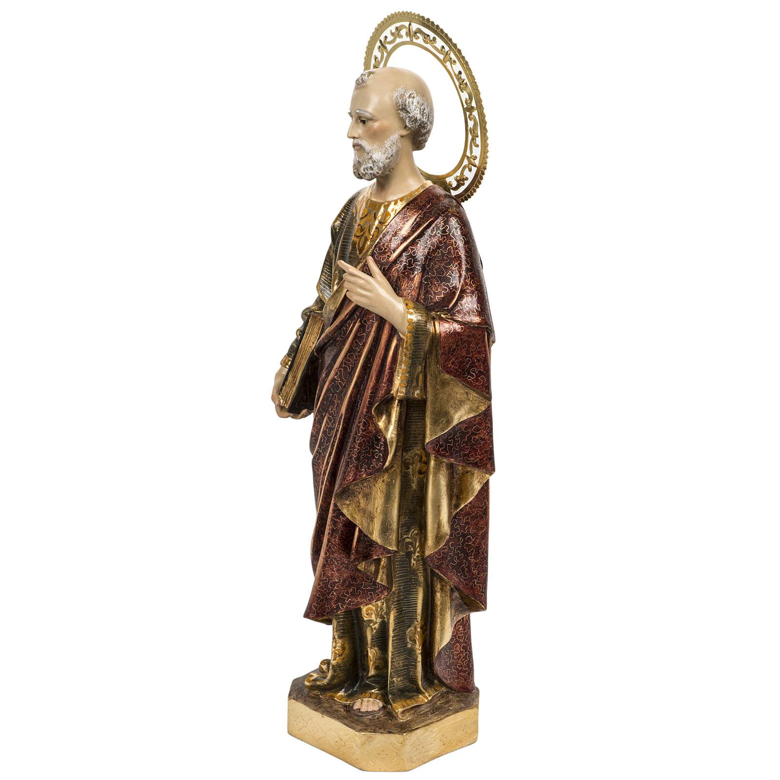 Święty Piotr 60 cm ścier drzewny wykończenie extr 4