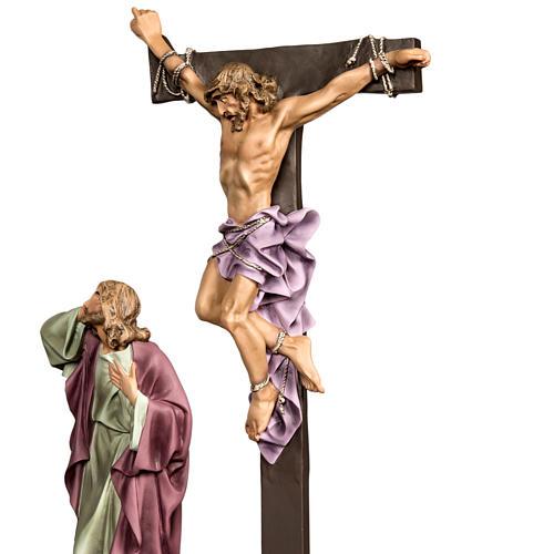 Calvaire statues de 30 cm pâte à bois 6