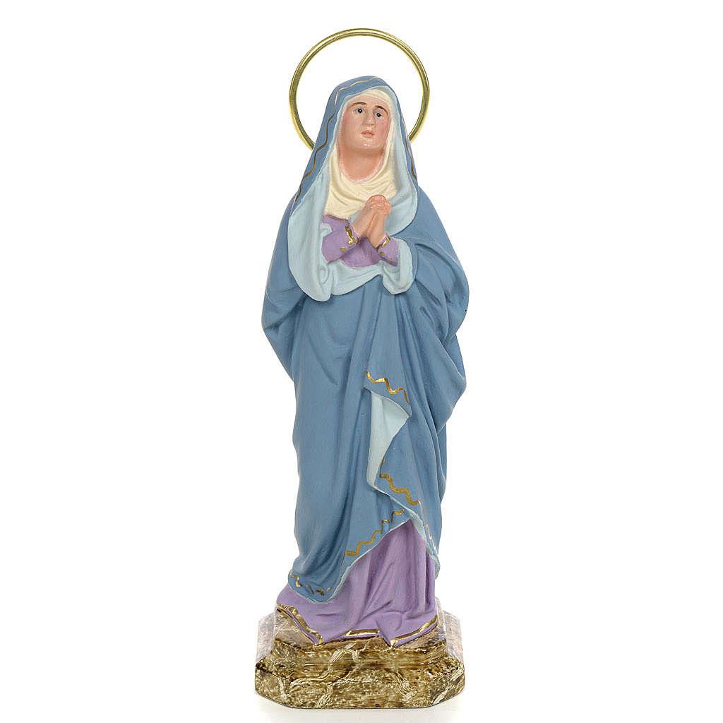 Statue Notre Dame des Douleurs 20 cm pâte à bois 4