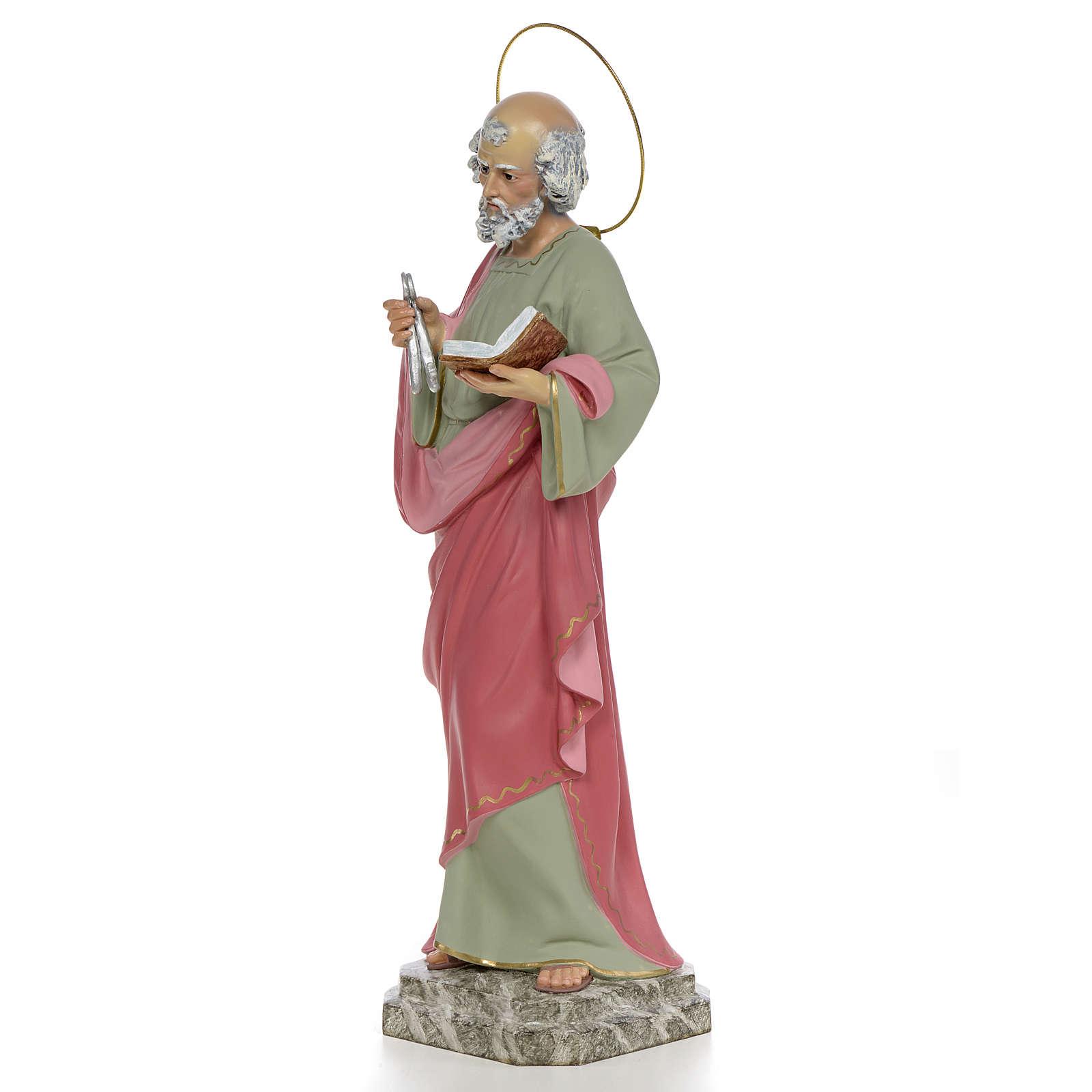 San Pedro Apóstol 50 cm pasta de madera económico 4