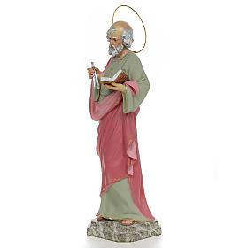 San Pietro Apostolo 50 cm pasta di legno dec. fine s2