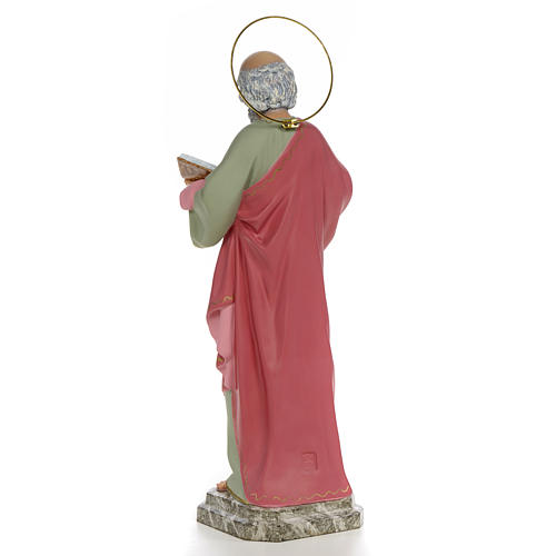 San Pietro Apostolo 50 cm pasta di legno dec. fine 3