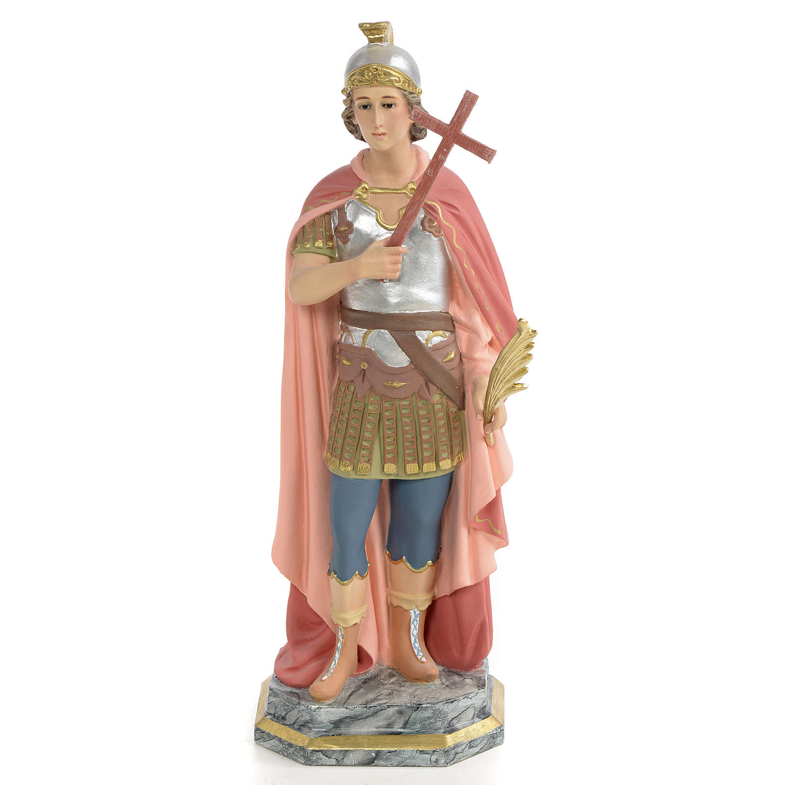 Saint Expedite of Melitene Statue in wood paste, 30 cm 4
