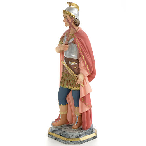 Saint Expedite of Melitene Statue in wood paste, 30 cm 2
