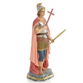 Statue Saint Expédit 30 cm pâte à bois s4