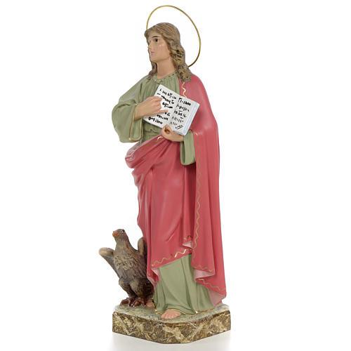 San Giovanni Evangelista 40 cm pasta di legno dec. fine 2