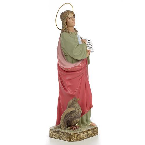 San Giovanni Evangelista 40 cm pasta di legno dec. fine 4