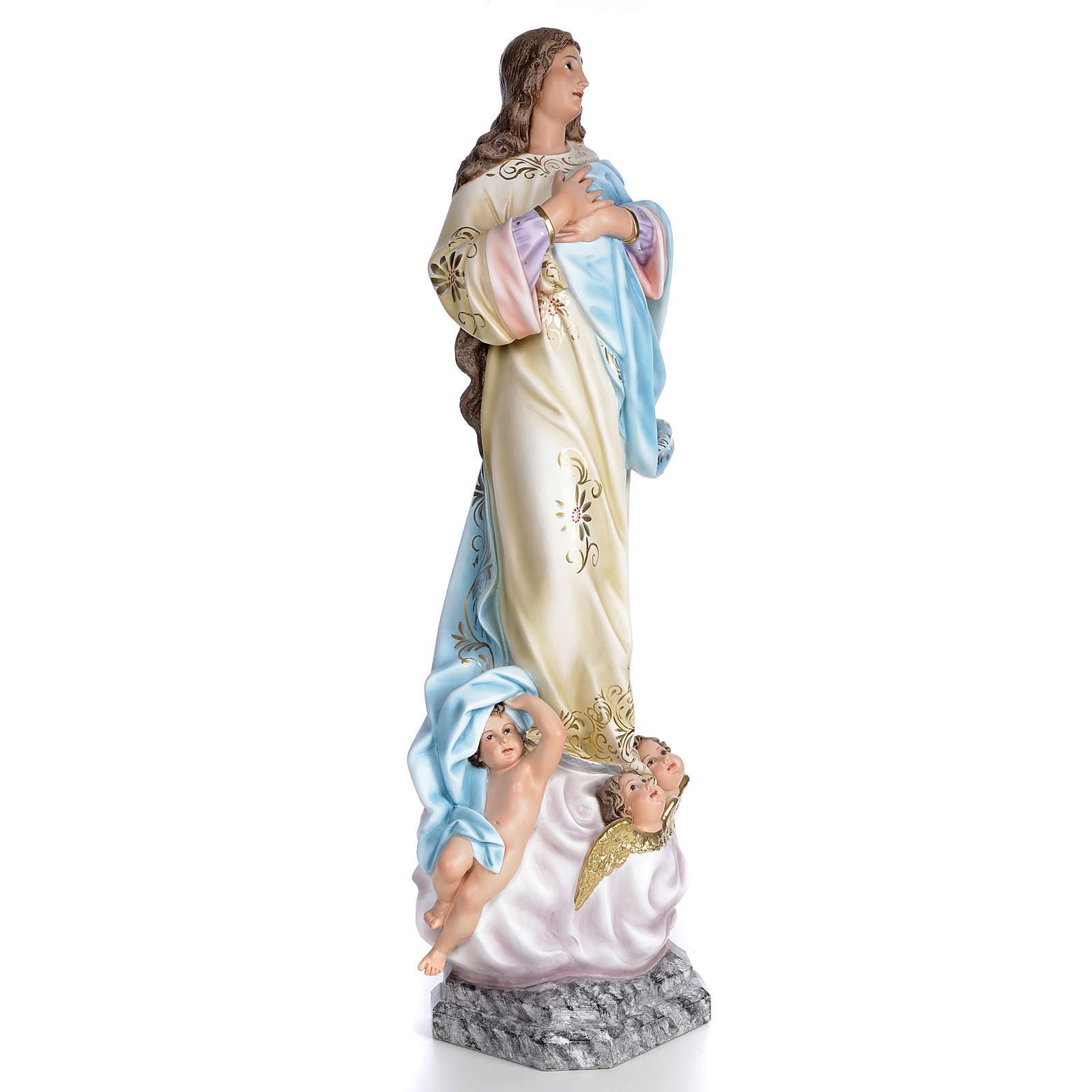 Imaculada Conceição Murillo 100 cm acab. elegante 4