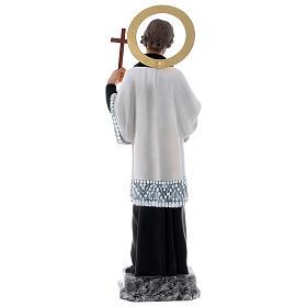 San Francesco Saverio 40 cm pasta di legno dec. elegante s8