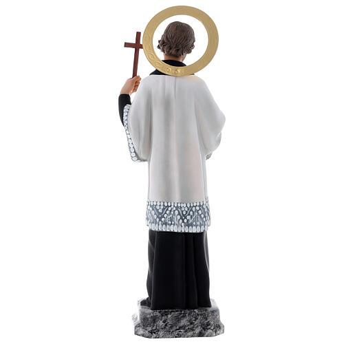 San Francesco Saverio 40 cm pasta di legno dec. elegante 8