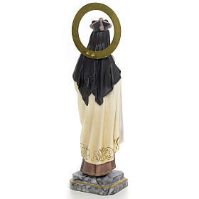 Santa Teresa di Gesù 30 cm pasta di legno dec. elegante s3