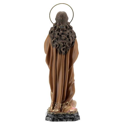 Santa Maria Maddalena 40 cm pasta di legno dec. elegante 7