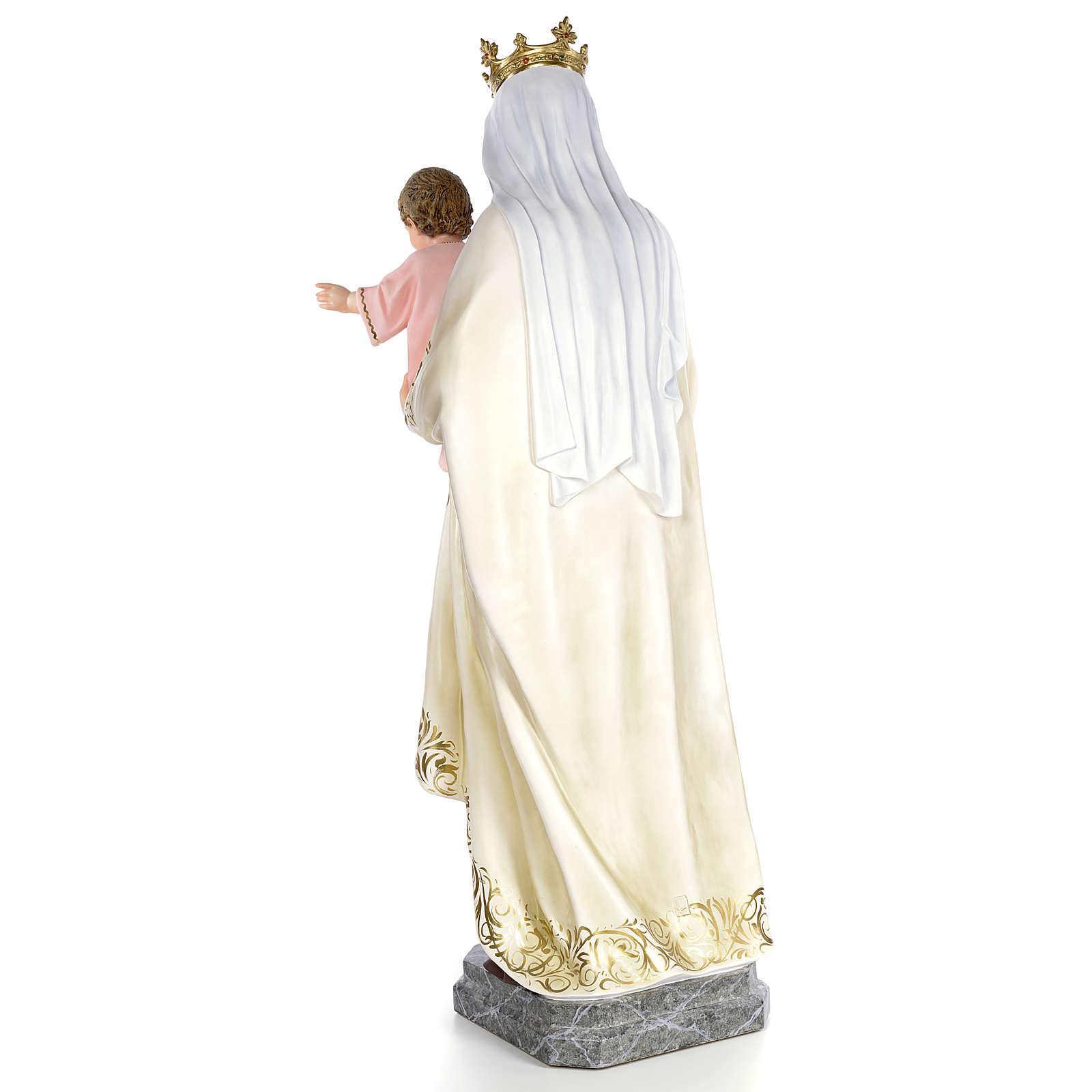 Beata Vergine Maria del Monte Carmelo 140 cm dec. elegante 4