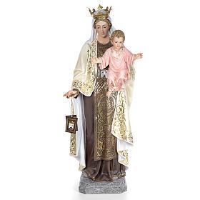 Beata Vergine Maria del Monte Carmelo 140 cm dec. elegante s1