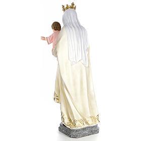 Beata Vergine Maria del Monte Carmelo 140 cm dec. elegante s3