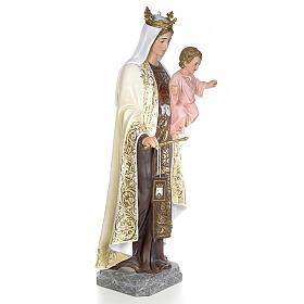 Beata Vergine Maria del Monte Carmelo 140 cm dec. elegante s4