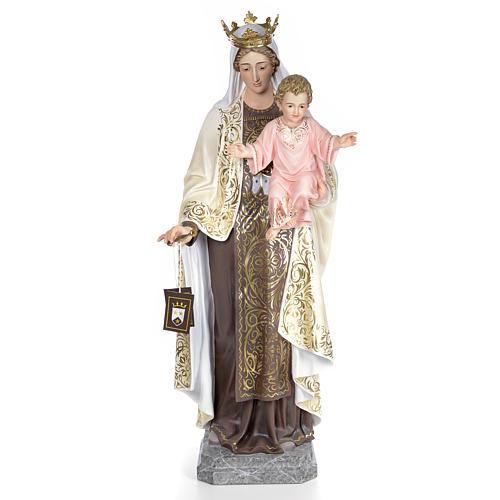 Beata Vergine Maria del Monte Carmelo 140 cm dec. elegante 1