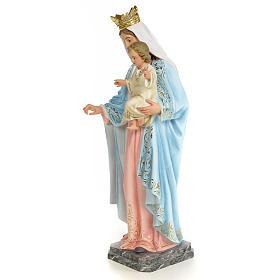 Matka Boża Różańcowa 60 cm ścier drzewny dek. eleganckie s2