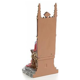Sagrado Corazón de jesús en el trono 25 cm elegant s3