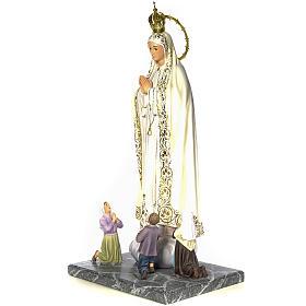 Madonna di Fatima con veggenti 120 cm dec. elegante s2