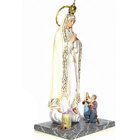 Madonna di Fatima con veggenti 120 cm dec. elegante s4