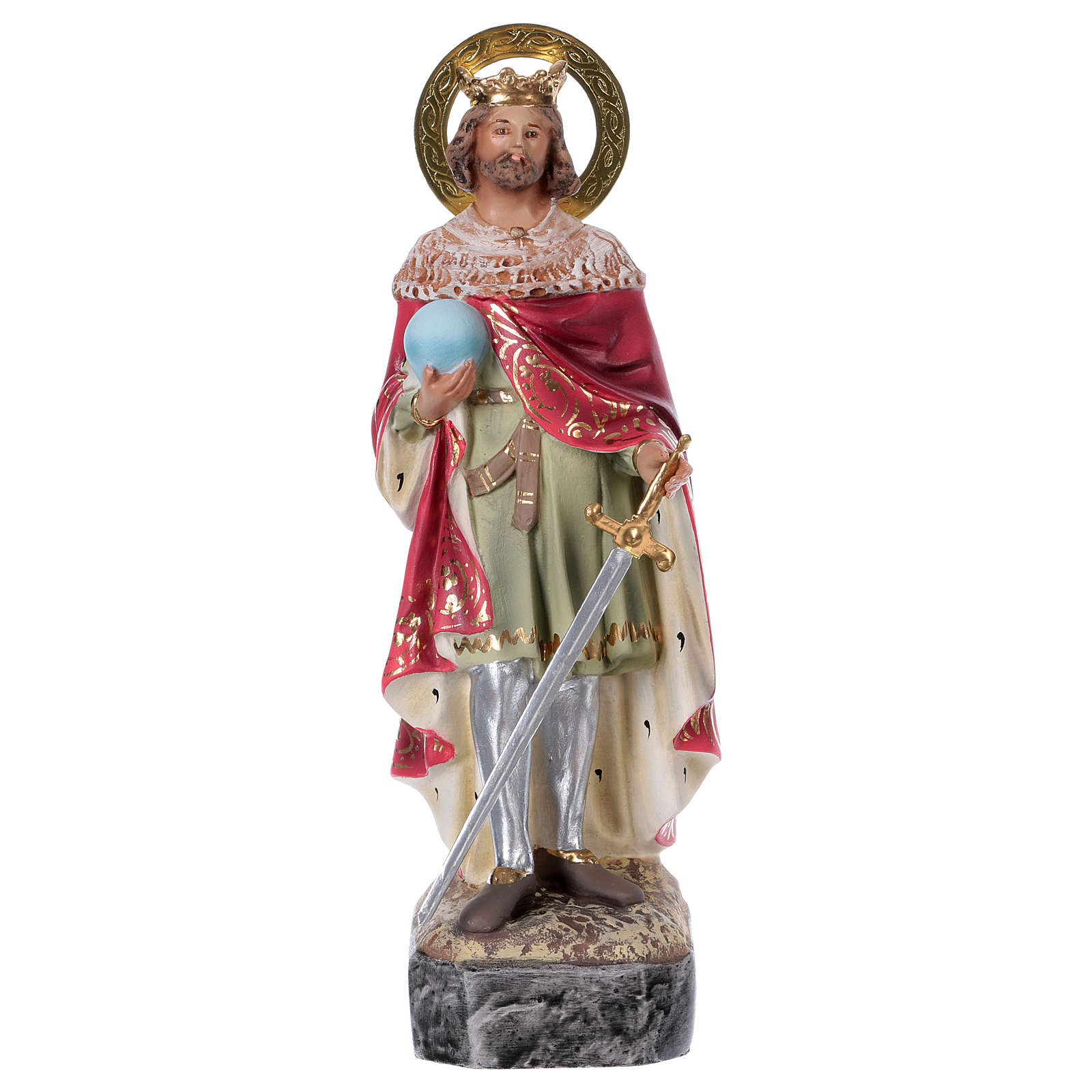 Ferdinand of Aragona wooden paste 20cm, fine finish 4