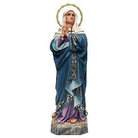 Imágenes de Madera Pintada: María Dolores 40 cm pasta de madera elegante