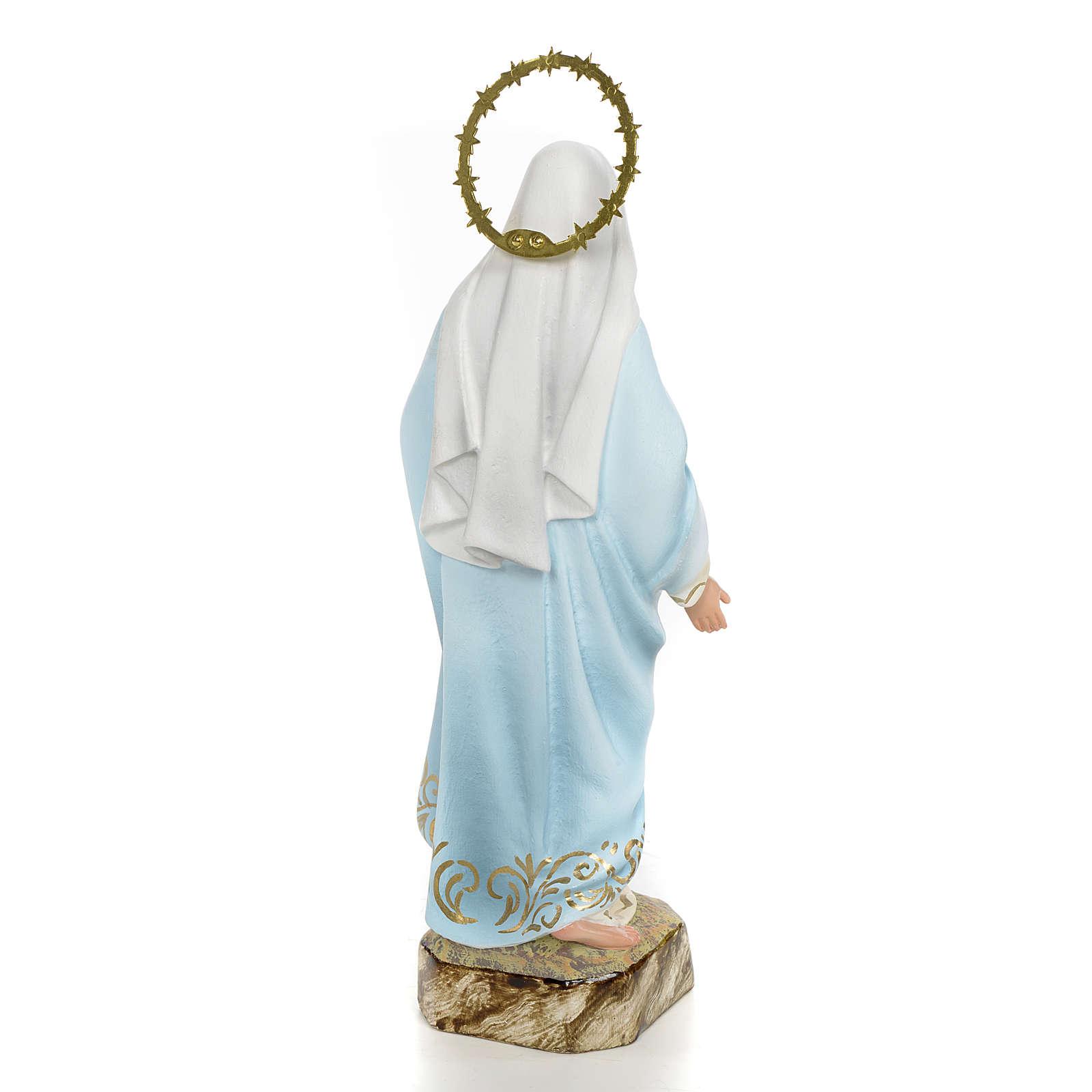Niepokalane Serce Maryi 20 cm ścier drzewny dek. eleganckie 4