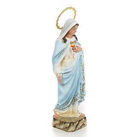 Niepokalane Serce Maryi 20 cm ścier drzewny dek. eleganckie s2