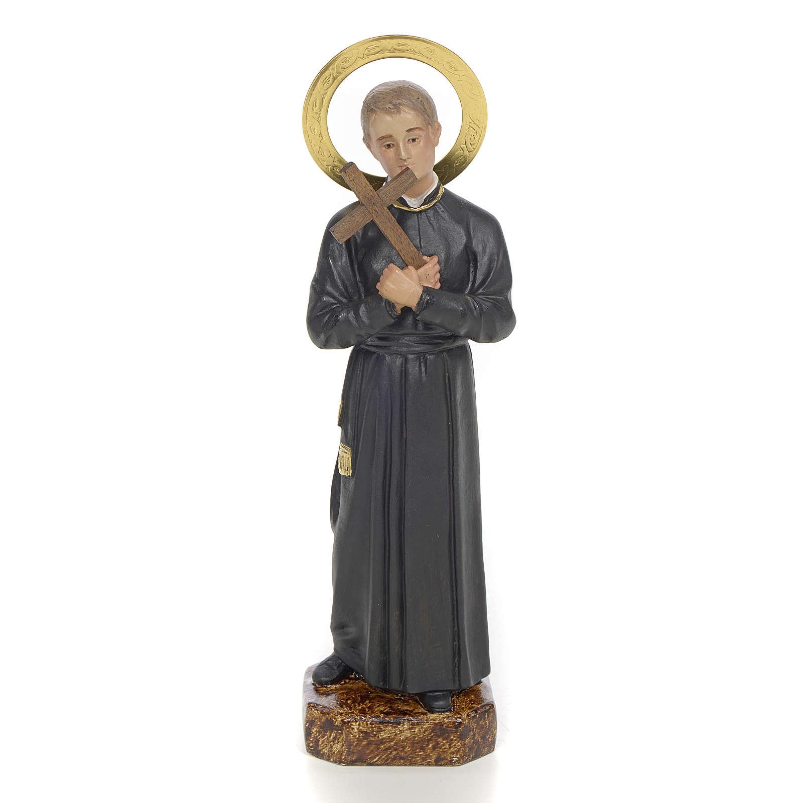 San Gerardo Maiella 20 cm pasta di legno dec. elegante 4