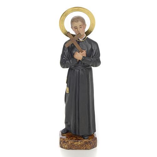 San Gerardo Maiella 20 cm pasta di legno dec. elegante 1