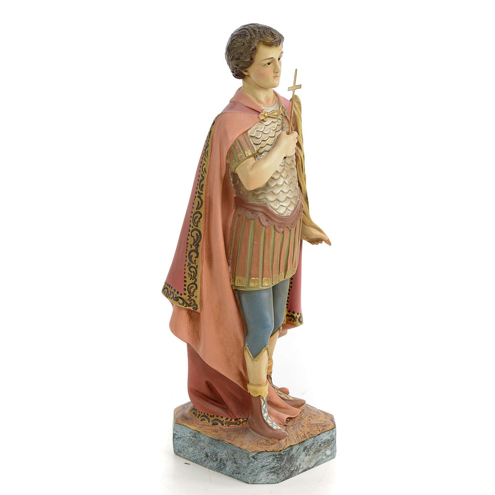 Święty Ekspedyt z Melitene 30 cm ścier drzewny dek. starożytna 4