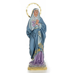 Imágenes de Madera Pintada: Nuestra Sra. de los Dolores 40 cm dec. Superior