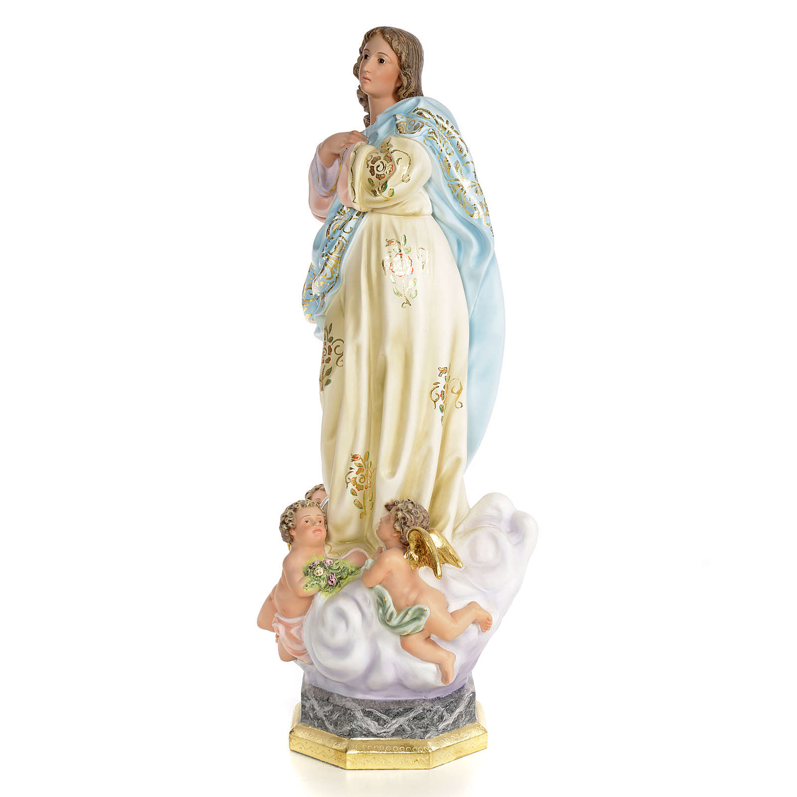 Immaculate Conception wooden paste 60cm, superior finish 4