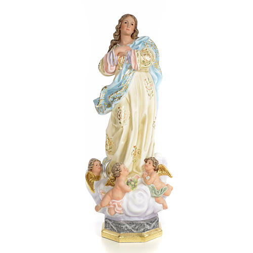 Immaculate Conception wooden paste 60cm, superior finish 1